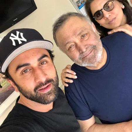 Ranbir Kapoor, Rishi Kapoor, Neetu Kapoor