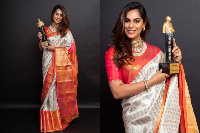 Upasana Konidela honoured with Dadasaheb Phalke the Philanthropist of the Year