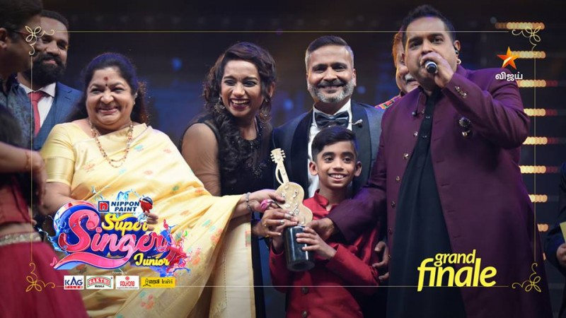 Hrithik wins Super Singer Junior 6