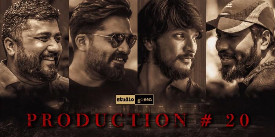Simbu and Gautham Karthik in Mufti Remake