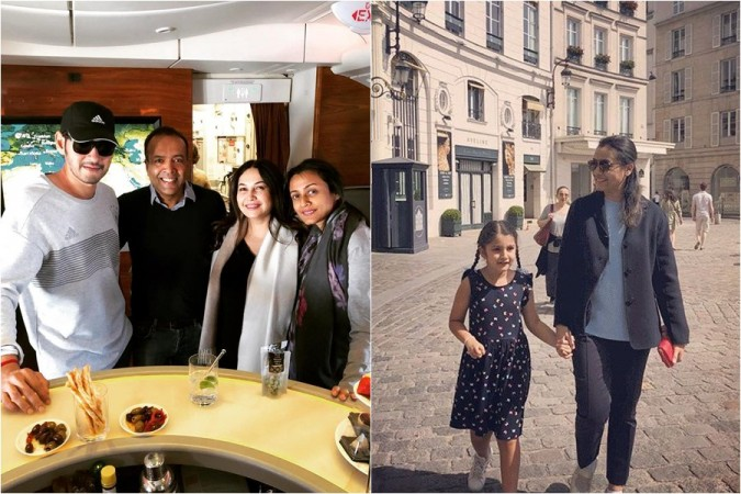 Mahesh Babu with family and friends in Paris