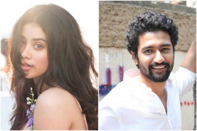 Janhvi Kapoor wants to kiss Vicky Kaushal over Kartik Aaryan
