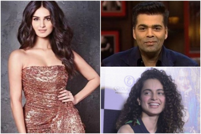 Will Tara Sutaria's praising words for Kangana Ranaut upset Karan Johar