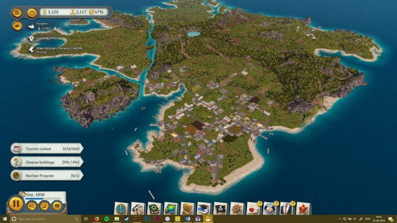 Tropico 6 features huge maps with lots of potential for experimentation