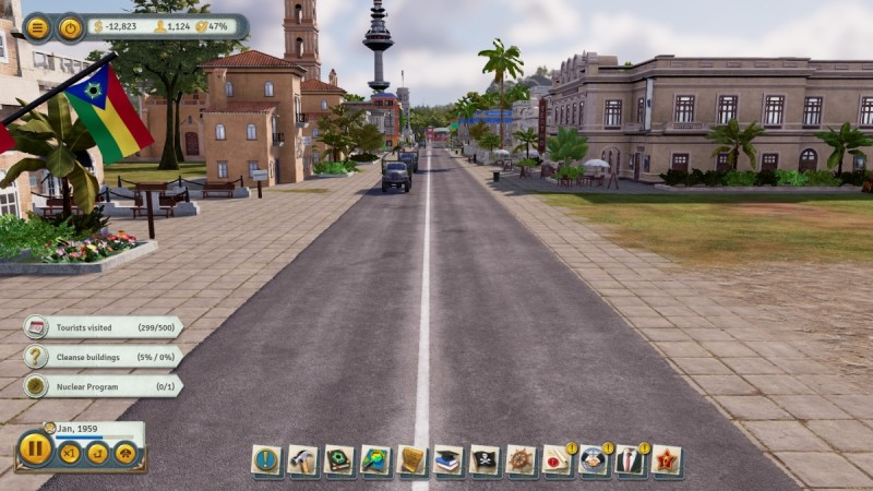 Tropico 6 allows you to get up close and personal in people's business