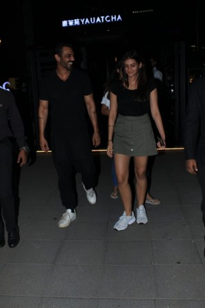 Arjun Rampal with daughter Mahikaa