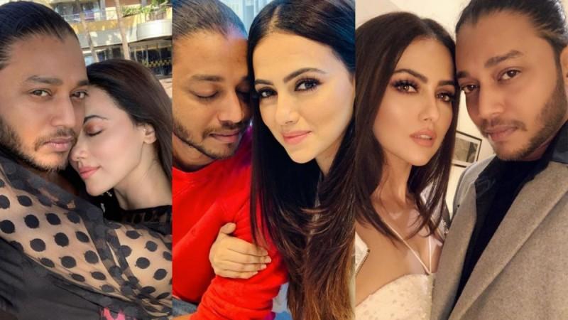 Sana Khan confesses love for boyfriend Melvin Louis