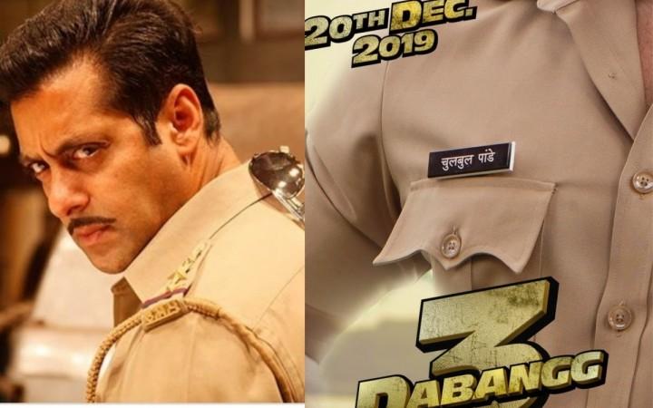 Dabangg 3: Fan frenzy as Salman Khan releases poster saying 'Chulbul is back'