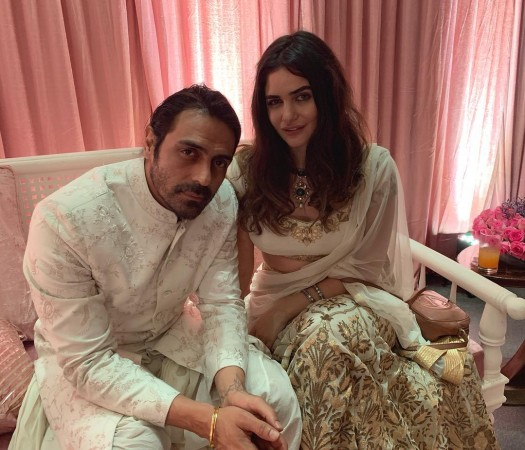 Arjun Rampal, girlfriend Gabriella Demetriades
