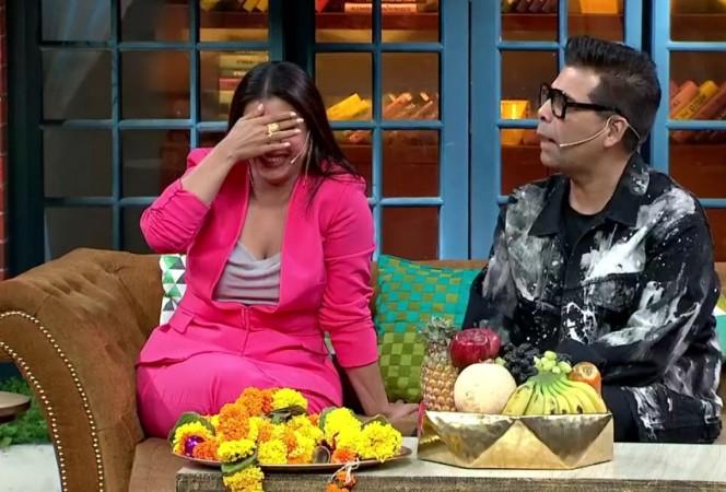 Kajol, Karan Johar, Kapil Sharma Show