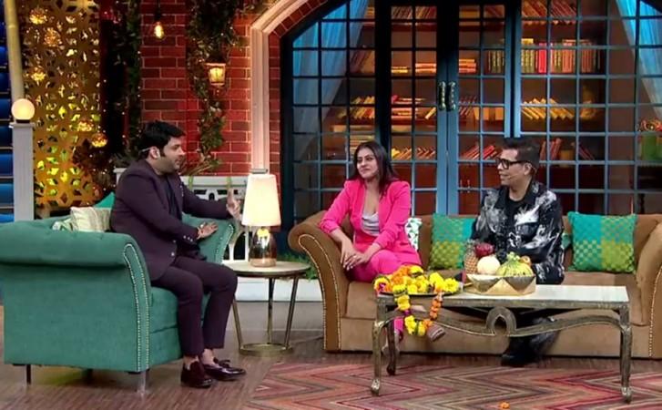 Kapil Sharma, Kajol, Karan Kohar, Kapil Sharma Show