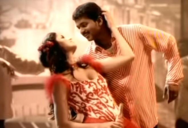 Vijay and Katrina Kaif