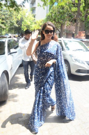 Kangana Ranaut casts her vote in Elections 2019