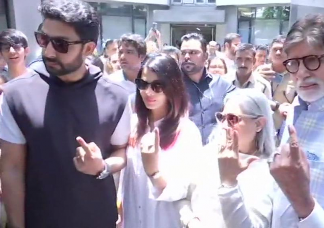 Bachchan Family votes