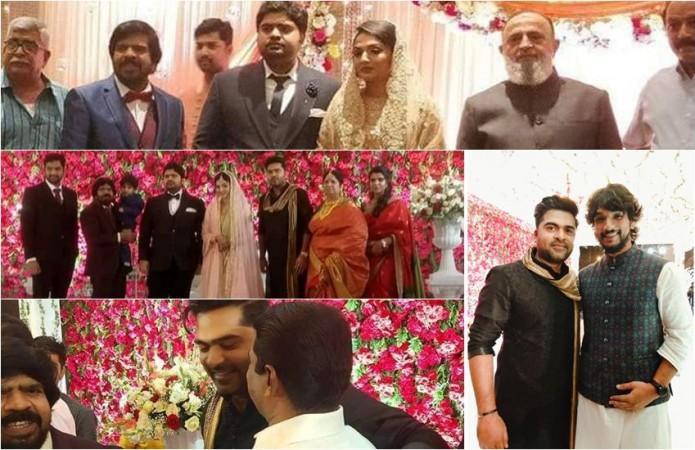 Simbu's brother Kuralarasan's wedding reception