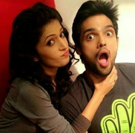 Parth Samthaan and Charlie Chauhan