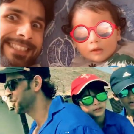 Shahid Kapoor, Hrithik Roshan share cute videos of quality time with their boys
