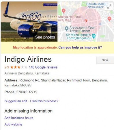 indigo fraud