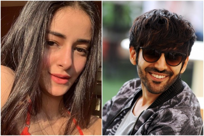 Ananya Panday admits having crush on Kartik Aaryan