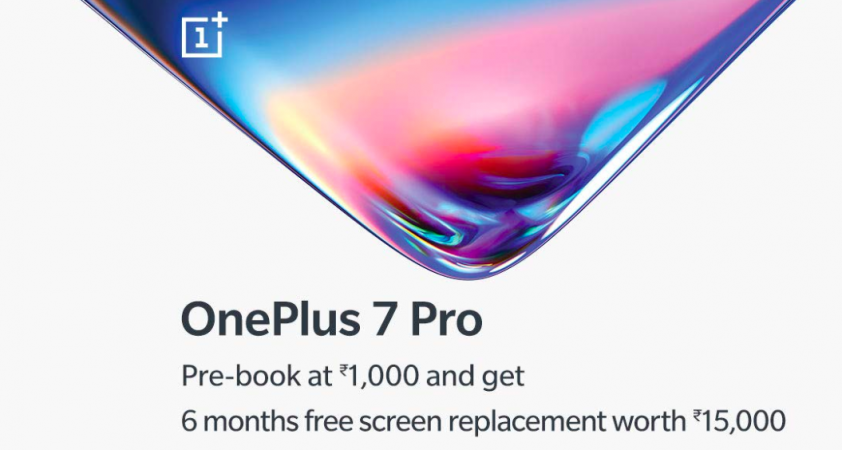 OnePlus 7 Pro prebooking offer