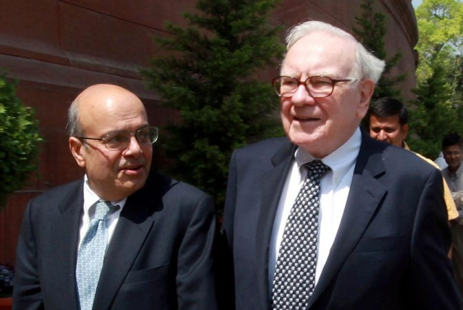 Ajit Jain with Warren Buffett