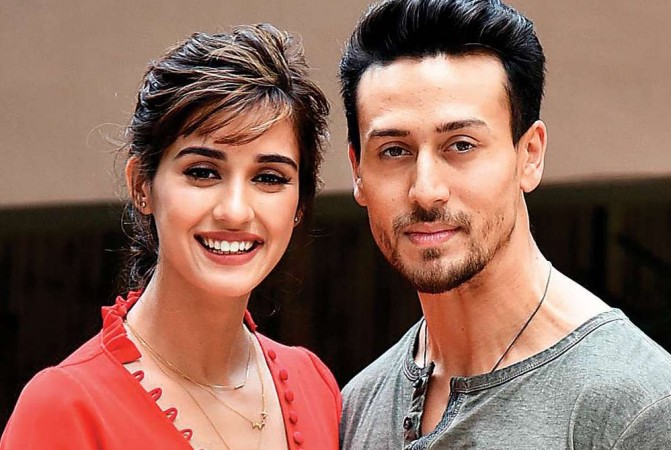 Disha Patani and Tiger Shroff.