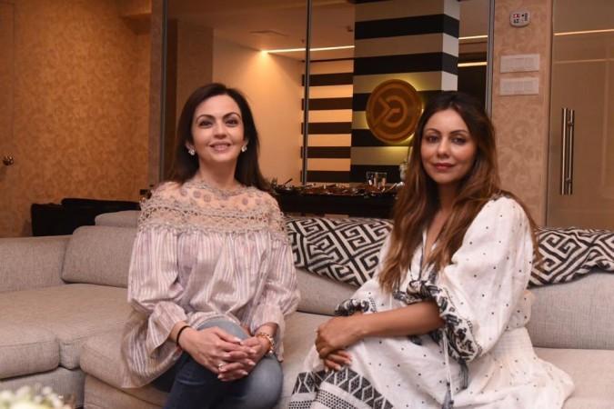 Gauri Khan and Nita Ambani
