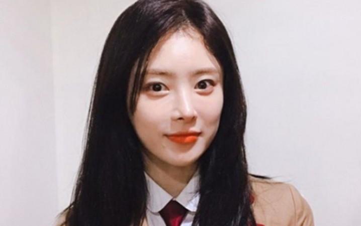 South Korean actress Han Ji Seong