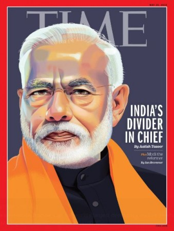 modi on time magazine cover