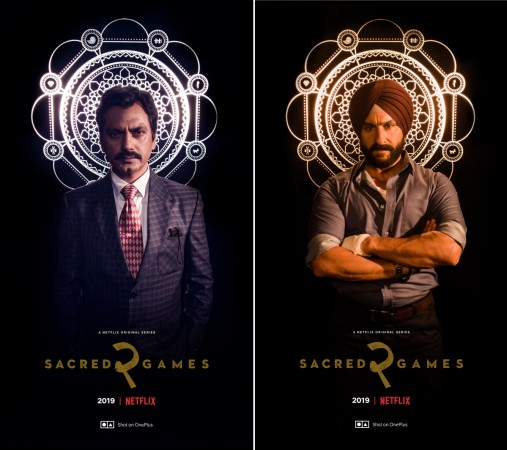 OnePlus 7 Pro used to shoot Sacred Games season 2 posters