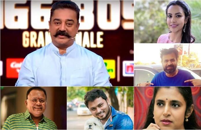 Bigg Boss Tamil 3 - Full Contestant List