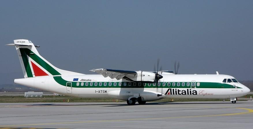 Alitalia airlines.