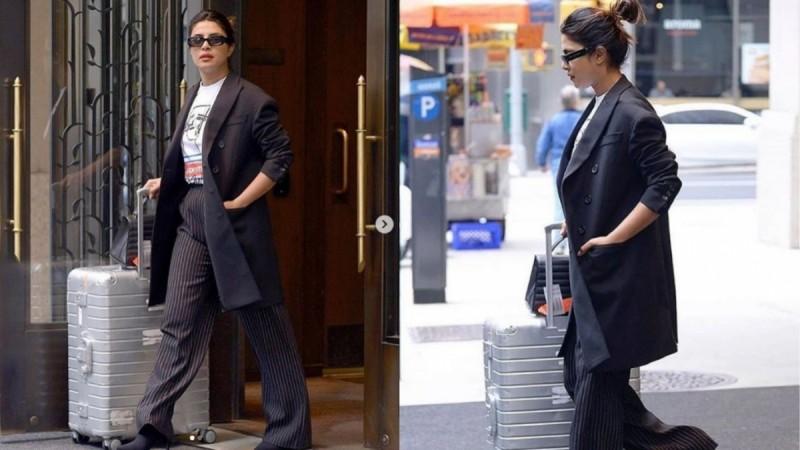 Priyanka Chopra leaves for Cannes 2019 from NYC.