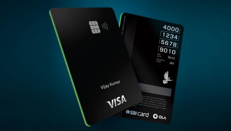 Ola SBI credit card