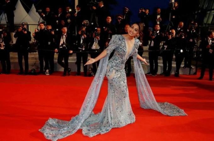 Hina Khan at Cannes Film Festival 2019