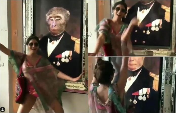 Shriya Saran dances in Bikini