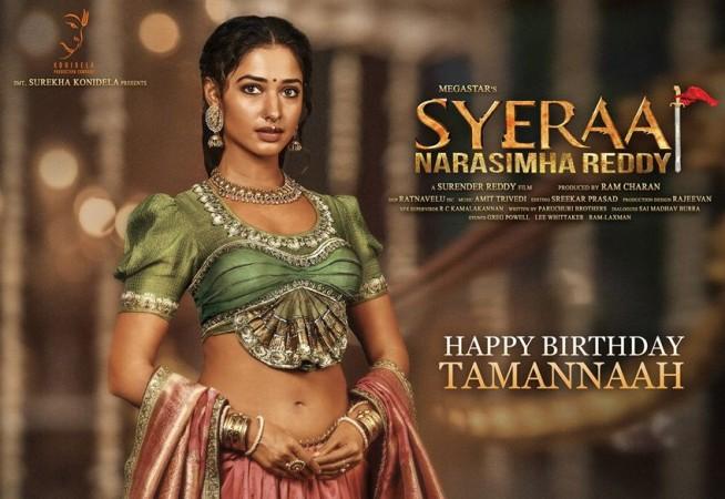 Tamannaah in Sye Raa Narasimha Reddy