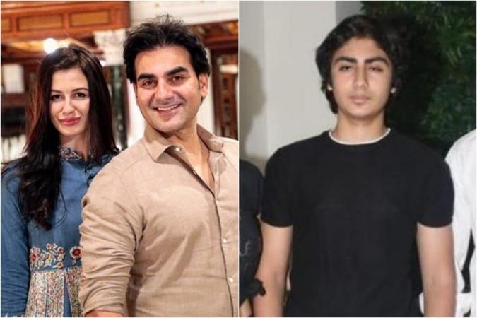 Arbaaz Khan, girlfriend Giorgia Andriani, son Arhaan Khan