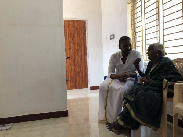 Raghava Lawrence builds house for Gaja cyclone victim and holds house warming ceremony