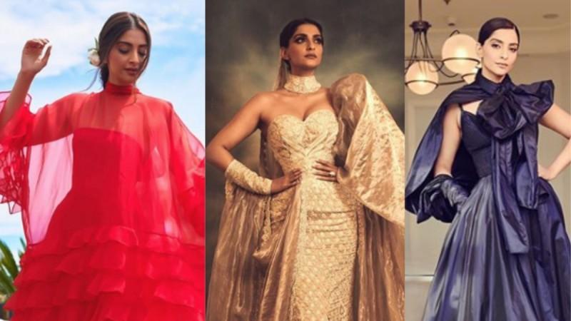 Sonam Kapoor at Cannes 2019 in three looks