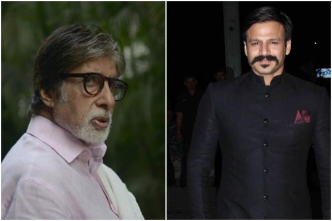 Amitabh Bachchan and Vivek Oberoi