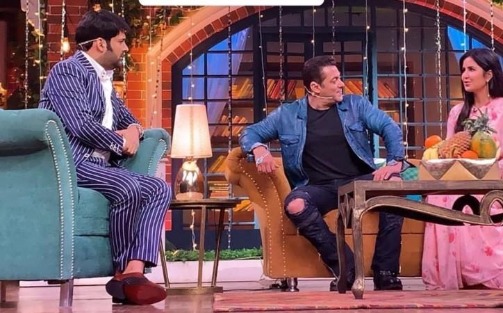 Kapil Sharma, Salman Khan, Katrina Kaif