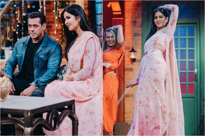 Salman Khan, Katrina Kaif, The Kapil Sharma Show