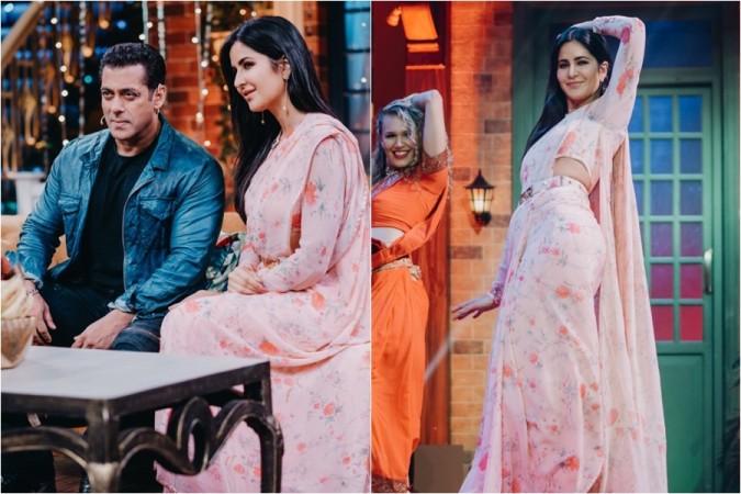 Salman Khan, Katrina Kaif, The Kapil Sharma Show