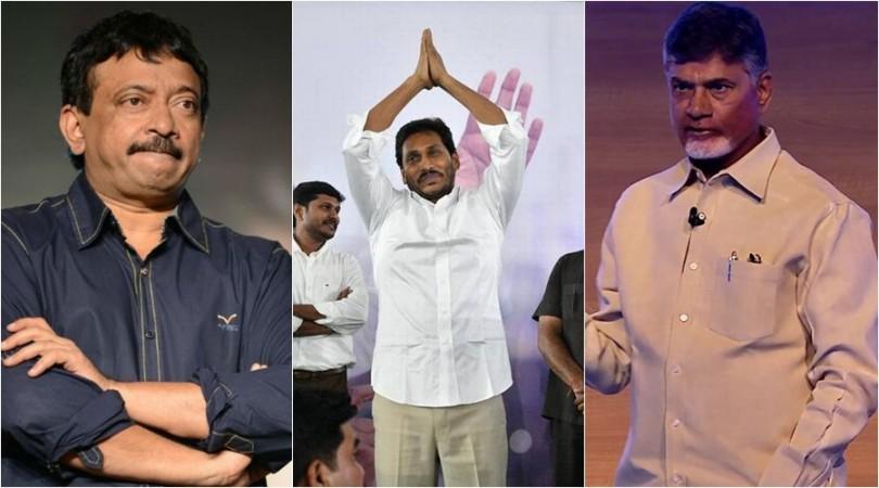 Ram Gopal Varma, YS Jagan Mohan Reddy and Nara Chandrababu Naidu