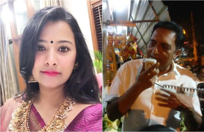 Shilpa Ganesh and Prakash Raj