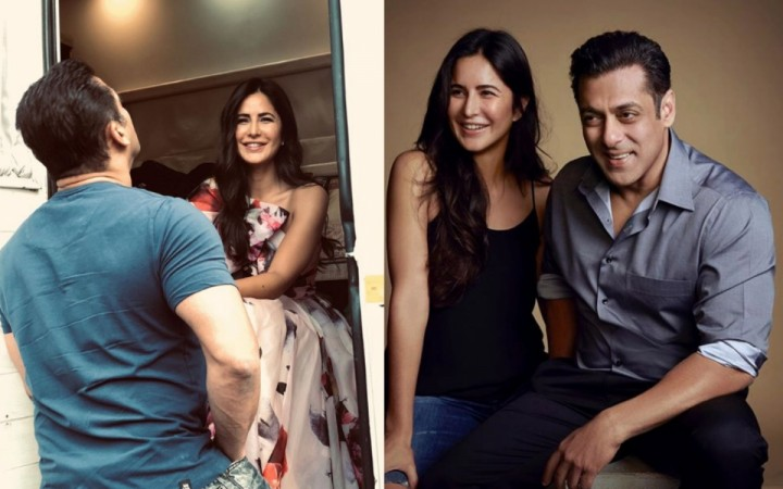 Salman Khan and Katrina Kaif in Bharat promotions