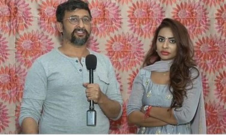 Sri Reddy and director Teja