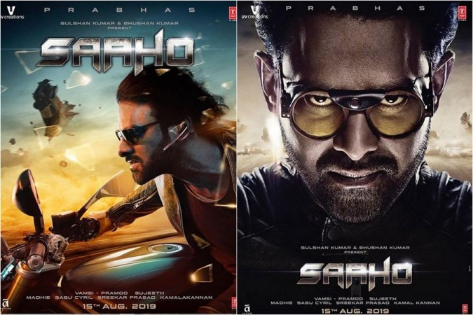 Prabhas' Saaho movie new posters
