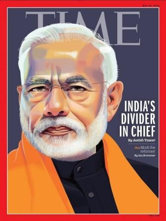 Time magazine modi